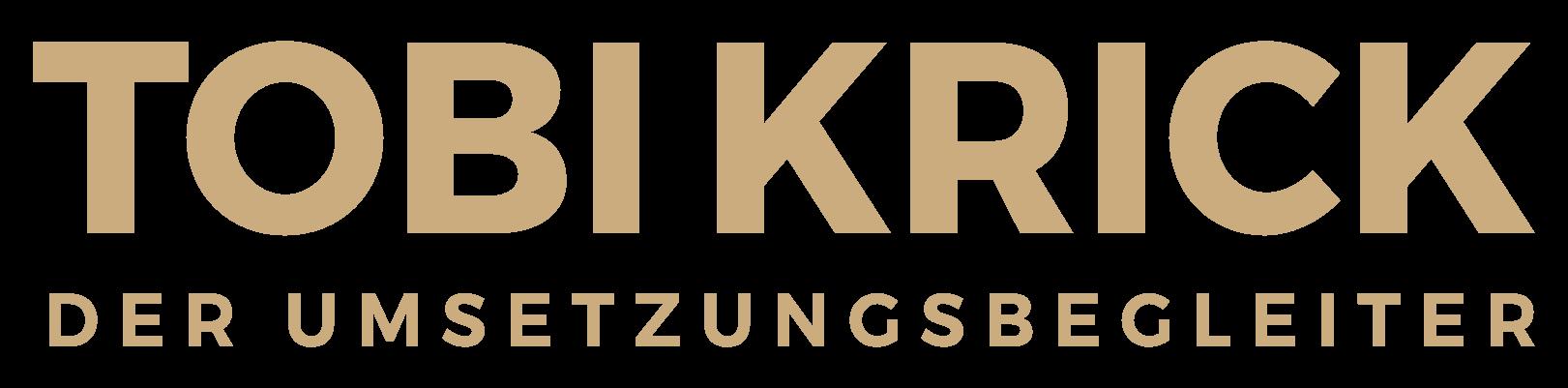 TOBI KRICK Logo GOLD