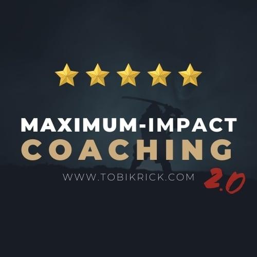 tobi krick maximum impact coaching